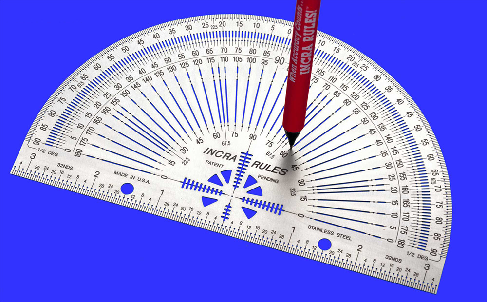 Goniometro Incra Precision Marking Protractor