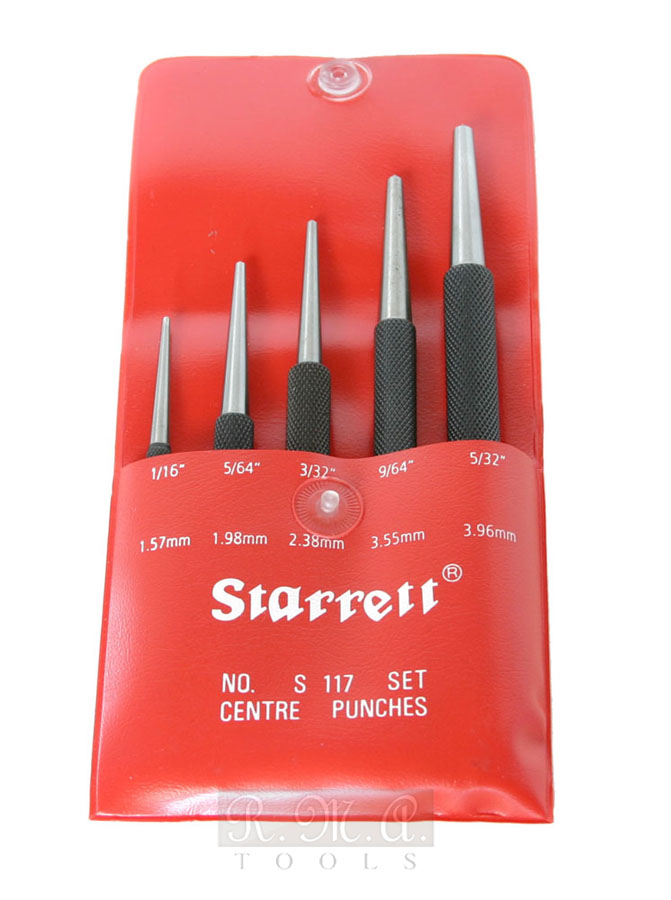 Set bulini Starrett S117PC
